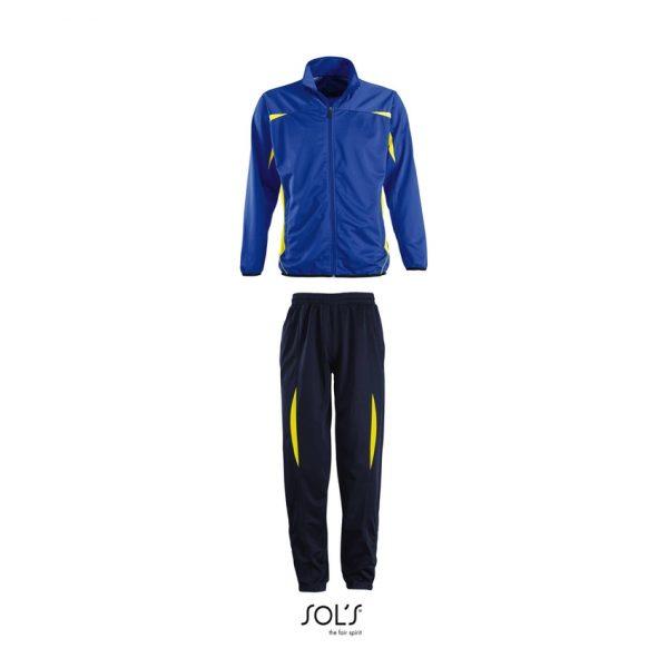 Chandal Camp Nou Hombre Sols - Azul Royal-Limón / Azul Marino