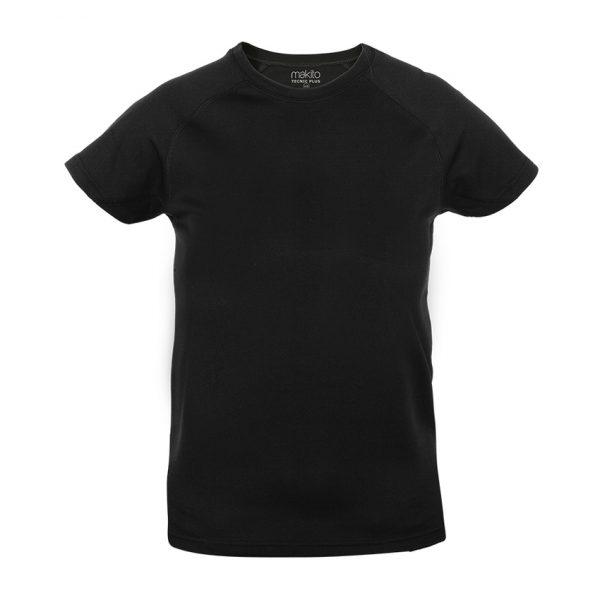 Camiseta Niño Tecnic Plus Makito - Negro