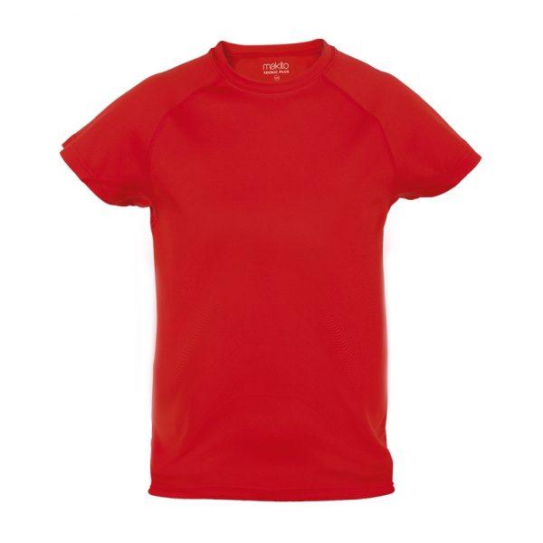 Camiseta Niño Tecnic Plus Makito - Rojo