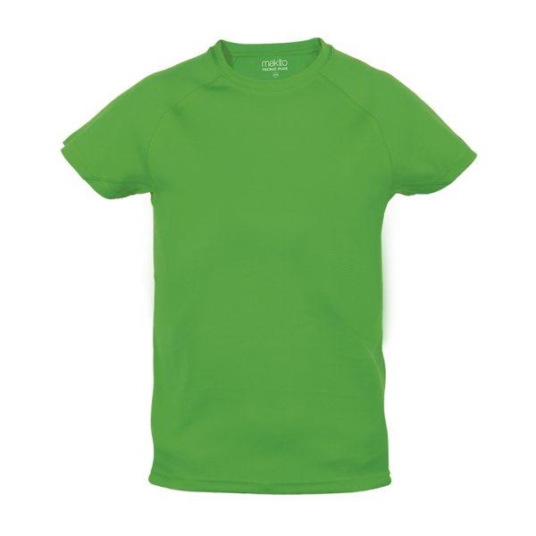 Camiseta Niño Tecnic Plus Makito - Verde