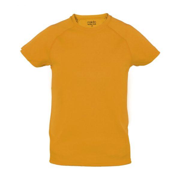 Camiseta Niño Tecnic Plus Makito - Naranja