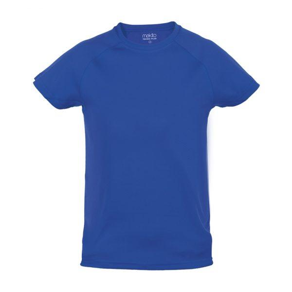 Camiseta Niño Tecnic Plus Makito - Azul