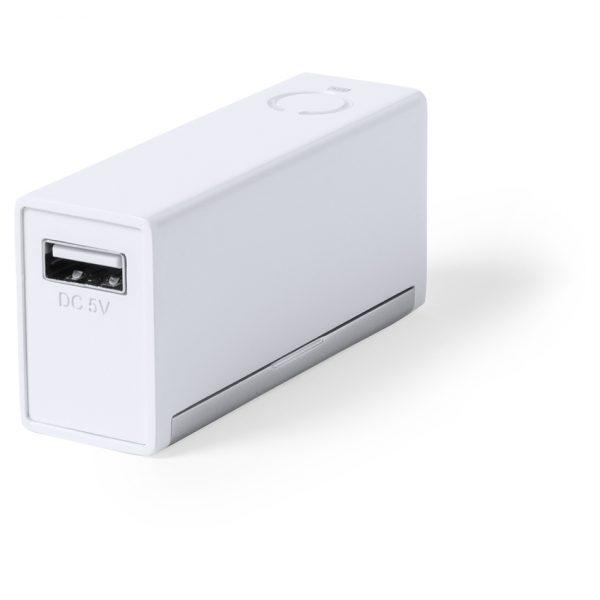 Power Bank Sanders Makito - Blanco
