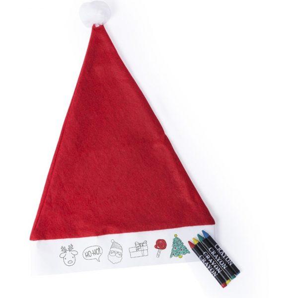 Gorro Papa Noel Niño Rupler Makito - Rojo