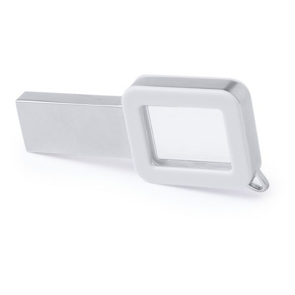 Memoria USB Hernak 16Gb Makito - Blanco